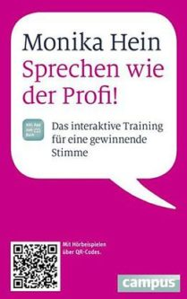 Buch Sprechtraining Monika Hein www.gesundheitsjournalistin.ch