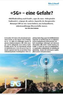 Was bewirken Mobilfunkstrahlen im Körper? Ist 5G eine Gefahr für die Gesundheit? Das sagen unabhängige Forscher.