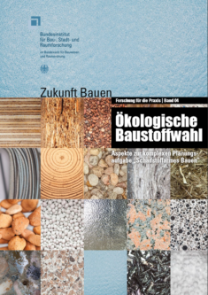 Gratis Broschüre Ökologische Baustoffwahl