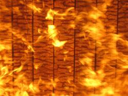 Holz, das nicht brennt_ Massivholz ist sehr feuerbeständig